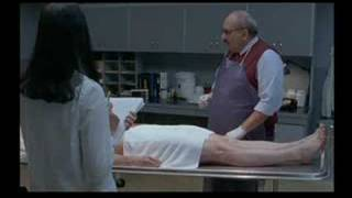Embalming scene from 'Kissed'