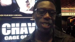 Fun interview with Hakeem Kae-Kazim