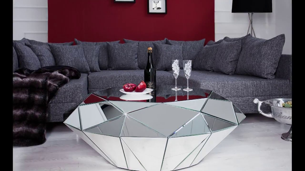 En Qualité Miroir Basse DiamantMultiples FacettesVerre De Table qpMzGVSU