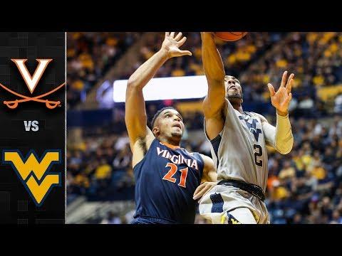 Virginia vs. West Virginia Basketball Highlights (2017-18)