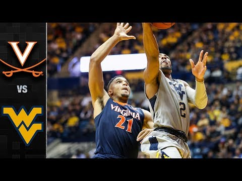 Virginia vs. West Virginia Basketball Highlights (2017-18)