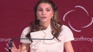 Special Address - Howard Buffet and Queen Rania Al Abdullah