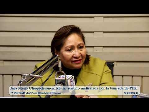 Ana María Choquehuanca: Me he sentido maltratada por la bancada de PPK