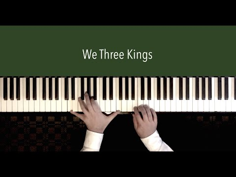 We Three Kings  Piano Cover by Paul Hankinson Christmas Calm