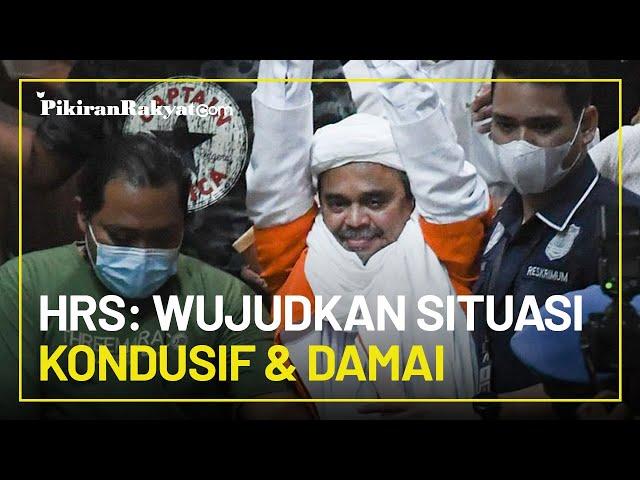 Rizieq Shihab Tak Lagi Menggebu-gebu saat Dipindahkan ke Rutan Lain, HRS: Alhamdulillah, Santai Saja