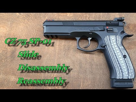 CZ 75 SP-01 Slide Full Disassembly and Reassembly