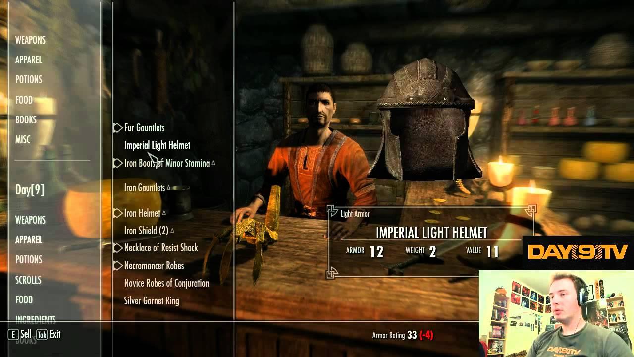 Day9 plays Elder Scrolls V: Skyrim - Part 6