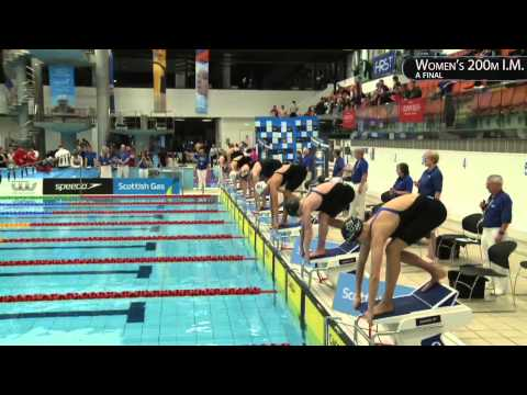 HANNAH MILEY GRABS THE GOLD! WOMENS 200M IM - SCOTTISH NATIONAL SHORT COURSE CHAMPIONSHIP