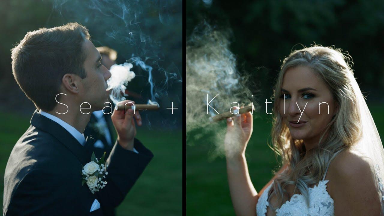 Smoking Cigars & Having Fun | Sean & Kaitlyn | Wedding Teaser Trailer