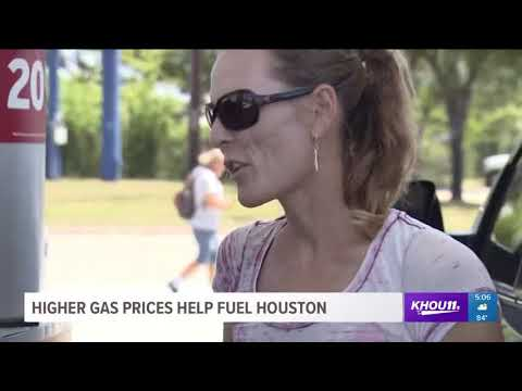 Experts Say High Gas Prices Help Fuel Houston
