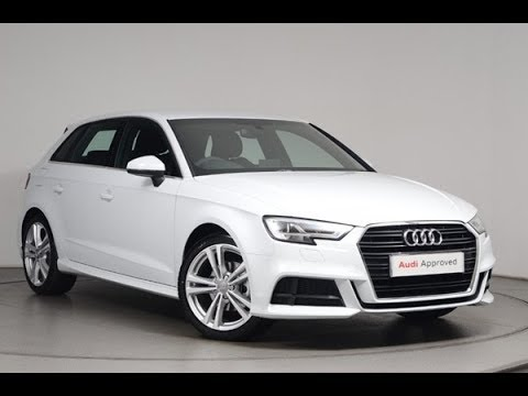 fa17fyk audi a3 sportback s line 1 5 tfsi 150 ps s tronic youtube. Black Bedroom Furniture Sets. Home Design Ideas