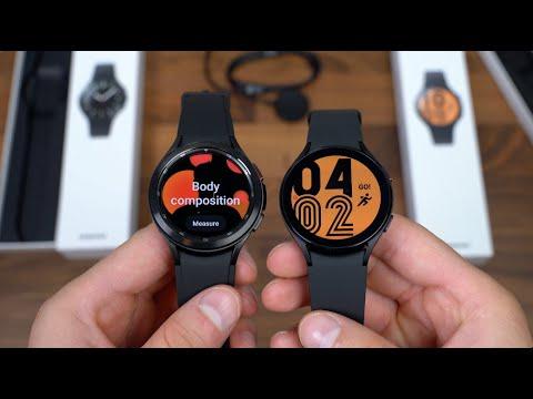 Samsung Galaxy Watch 4 Classic vs Galaxy Watch 4 Unboxing!