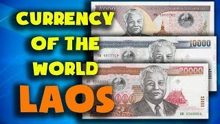 Currency of the world - Laos. Lao kip. Exchange rates Laos. Lao banknotes and Lao coins