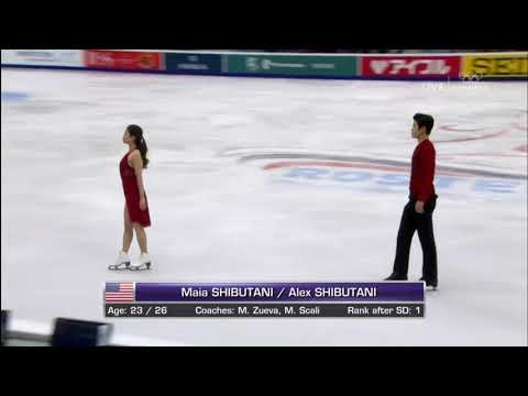 Maia & Alex Shibutani  Rostelecom Cup 20172018 Free Dance