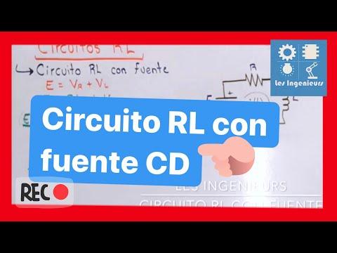 Circuito Rl : Circuito rl con fuente youtube