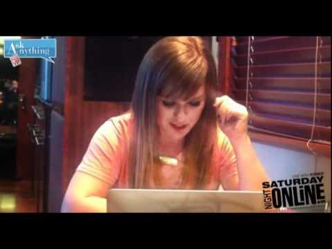 Saturday Night Online Chat 22.10.11