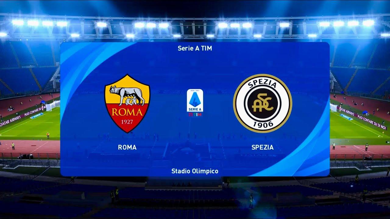 Download AS Roma vs Spezia   Stadio Olimpico   2020-21 Coppa Italia   PES 2021