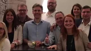 DANK an Marc, Kathleen, Petra, Thomas und natürlich Sabine, unsere Dozenten