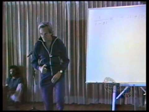 Richard P Feynman: Quantum Mechanical View of Reality 1 (Part 1)