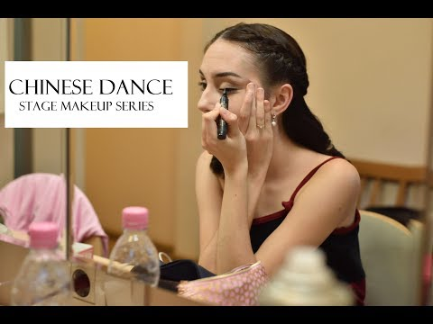 CHINESE DANCE - Stage Makeup Series