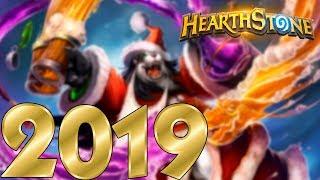 С Новым 2019 Плюс Оупен Пак! Хартстоун!