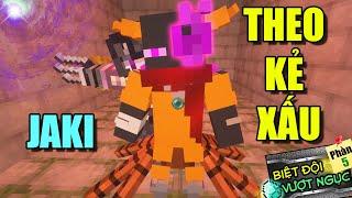 Minecraft Biệt Đội Vượt Ngục (Phần 5) #CUỐI- JAKI THEO KẺ XẤU - LÀM PHẢN DIỆN 👮 vs 👹 (HẾT)