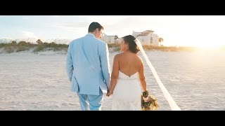 Casa Marina Jacksonville Beach Wedding Video // Brent + Rox Anne