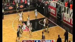 Allen Iverson's first basket in Turkey