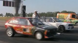 vuclip BMW 327 Turbo Breki Vs. VW Polo TDI