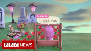 Coronavirus: 'I built a memorial to my grandfather on Animal Crossing' - BBC News
