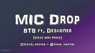 BTS - MIC Drop ft Desiigner (Steve Aoki REMIX) | Sub (Han - English - Español) Color Coded