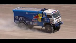 Подборка грузовиков на ралли Дакар(Небольшая подборка грузовиков на ралли Дакар которое проходит в Латинской Америке. Команда Камаз Мастер..., 2015-01-08T00:22:42.000Z)