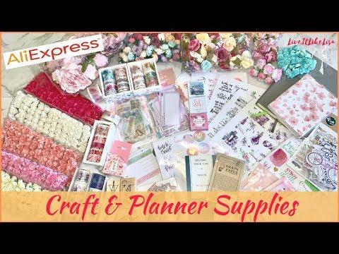 HAUL | AliExpress | Craft & Planner Supplies
