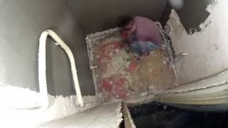 видео Красивый интерьер ванной в панельном доме возможен