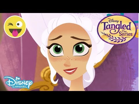 Tangled: Inside the Journal   Queen Arianna 👑     Official Disney Channel UK