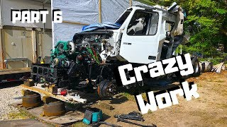 Rebuilding The CRAZY Wrecked SALVAGE 2019 VOLVO VNL Semi Truck COPART Project| PART 6 |