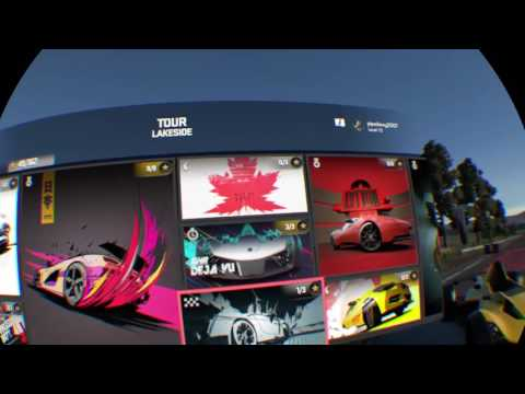 Driveclub vr  with steering wheel
