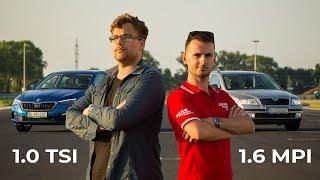 Škoda SCALA 1.0 TSI vs. OCTAVIA 1.6 MPI - Acceleration • Consumption • Reliability