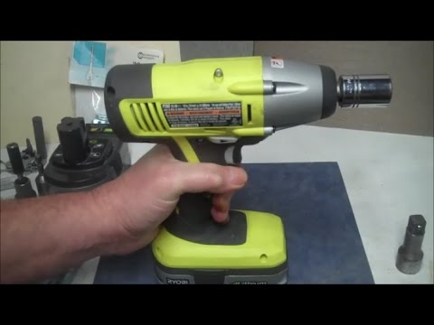 Ryobi One 1 2 Impact Driver Review And Demonstration P260 Wrench