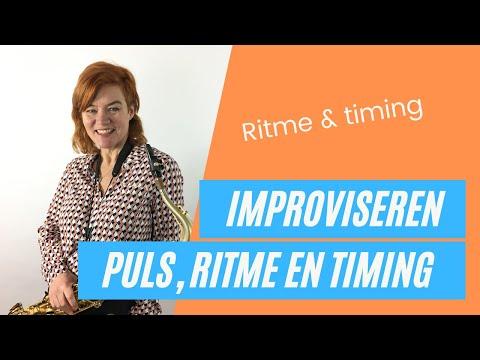 Improvisatieoefening: Puls, ritme en timing