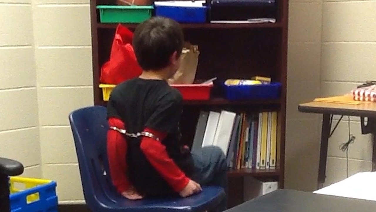 Third Grader Handcuffed in School