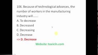 [Đề số 1]: Phân tích và giải đề thi TOEIC chi tiết part 5 dễ hiểu nhất