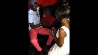 Black Woman Proposes To Her Boyfriend in the Club . WTF ?