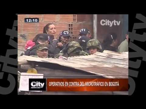 Operativos en contra del microtrafico en Bogotá | Citytv | Marzo 3