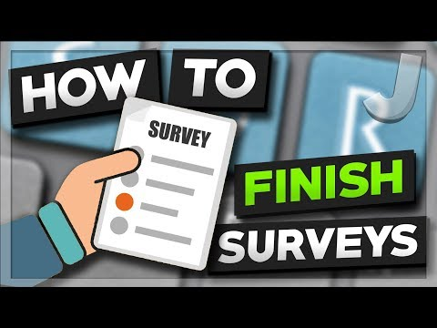 The Correct Way To Complete Online Surveys