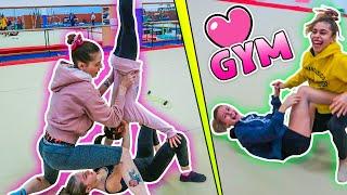 Backstage di un video in PALESTRA con le bimbe del CSBollate! Yoga challenge e giochi!