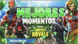 MEJORES MOMENTOS de Fortnite Battle Royale