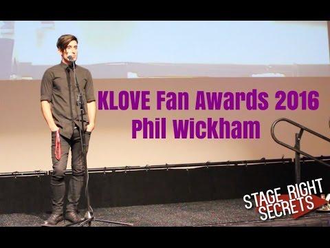 Phil Wickham Interview at KLOVE Fan Awards 2016