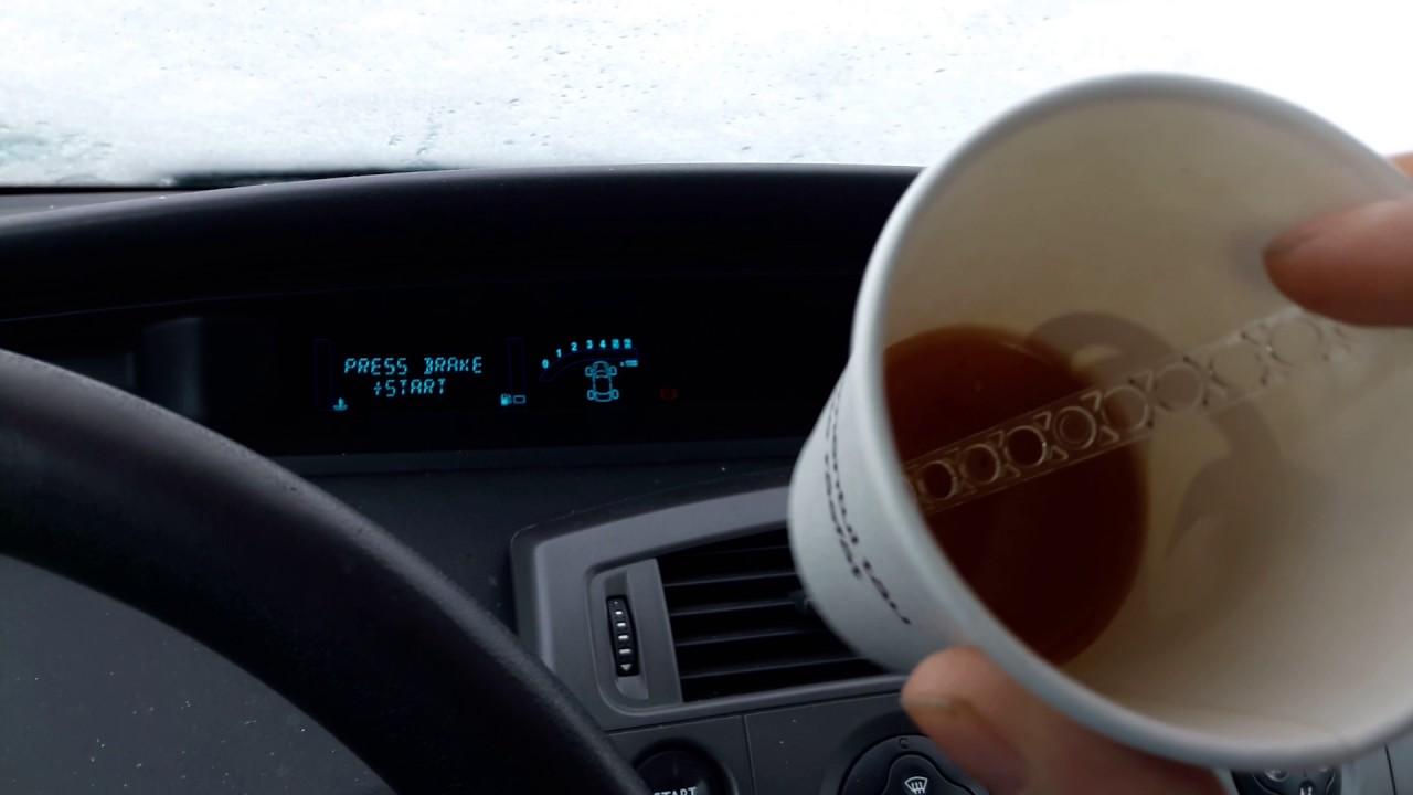 renault megane 3 проблемы в мороз