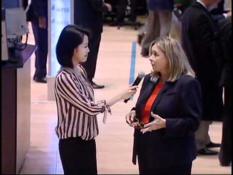 Sino TV , Lynn Jin's interview with Doreen M. Mogavero  NYSE